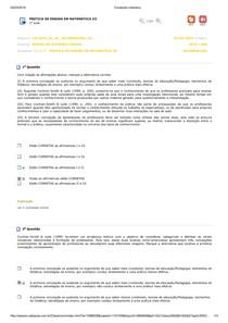 Prática de Ensino em Matemática III 01