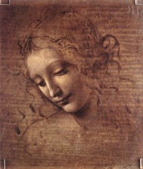 Leonardo Da Vince - The Lady Dis hevelled Hair