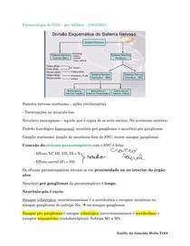 farmacologia do sistema nervoso autonomo