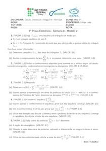 prova 2 calculo III - IFBA