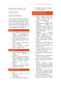 SEMIOLOGIA DO SISTEMA DIGESTÓRIO