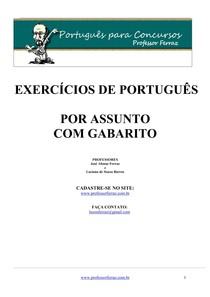 portugues comentado todos os assuntos comentadas