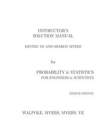 Solucionario Walpole 8 ED