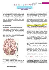 Exame neurológico 2- Pares Cranianos