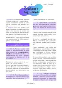 Prática Jurídica IV - Conciliação e Juízo Arbitral