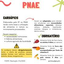 CARDÁPIOS - PNAE