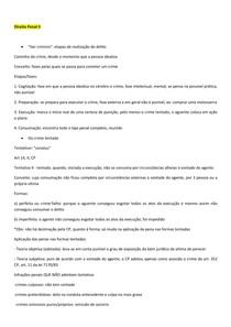 Direito Penal II - Part I