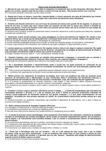 APANHADAO PSICOLOGIA SOCIOINTERACIONISTA