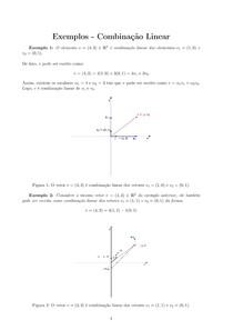 Explicação de Combinação Linear - Algebra Linear