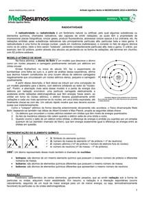 MEDRESUMOS 2016 - BIOFÍSICA 07 - Radioatividade