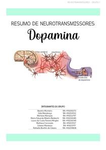Neurotransmissores - Dopamina