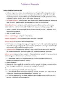 Exercícios resolvidos_ Lista de fisiologia cardiovascular