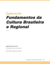 Caderno de Fundamentos da  Cultura Regional Brasileira