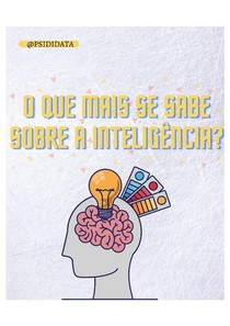 Fatos sobre a inteligência