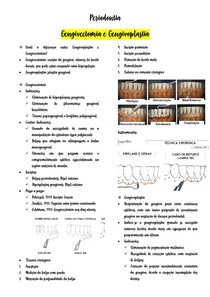 gengivectomia e gengivoplastia