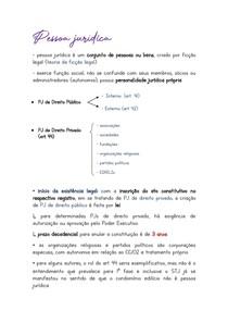 PESSOA JURÍDICA - DIREITO CIVIL