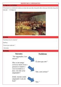Sofistas e Sócrates