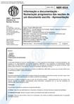 NBR 6024 Normas Numeração Progressiva das Seções de Documento Escrito 2003