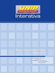 Apostila - Programação Orientada a Objetos I