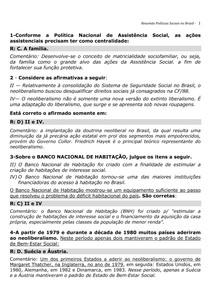 Resumo Política Social no Brasil