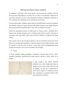 Diferenças entre fissuras, trincas e rachaduras.