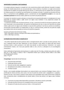 HIPERTENSÃO PULMONAR E COR PULMONALE