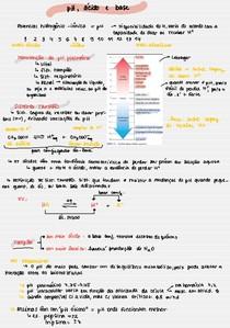 pH, ácido e base