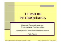 AULA 1 -Caracterizao da Ind Petroquimica