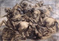Leonardo Da Vince - The Battle of Anghiari