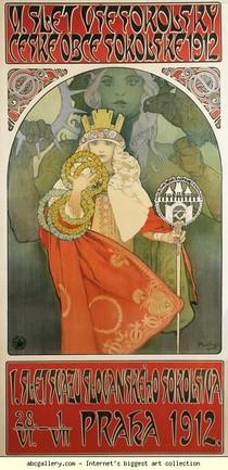Alphonse Mucha - Festival Sokol 6
