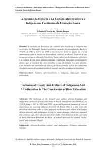 HISTÓRIA DOS POVOS INDÍGENAS E AFRO DESCENDENTES (5)