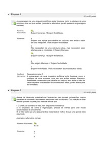 Estudos Disciplinares VII   Questionário Unidade II