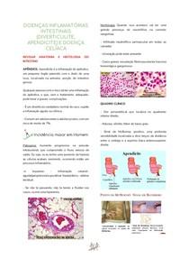AULA 05 - DOENÇAS INFLAMATÓRIAS INTESTINAIS (DIVERTICULITE, APENDICITE) E DOENÇA CELÍACA