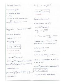 Resumo oscilações amortecidas - física II