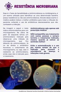Resistência Microbiana Folheto