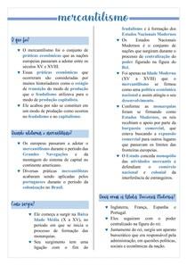 RESUMO- MERCANTILISMO 2 0