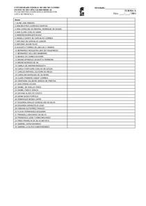 Lista de Presenca 2011-A B e C- ENDOCRINO