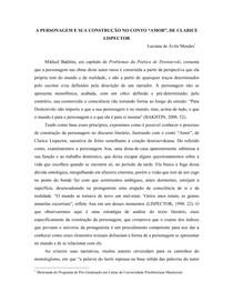 Artigo Amor - Clarice Lispector