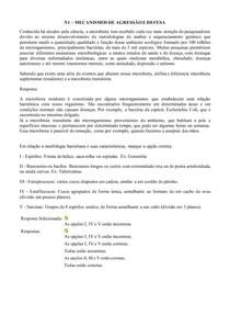 N1 - MECANISMOS DE AGRESSÃO E DEFESA