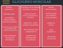 GLICOGÊNIO MUSCULAR