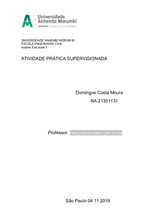 analise estrutural II
