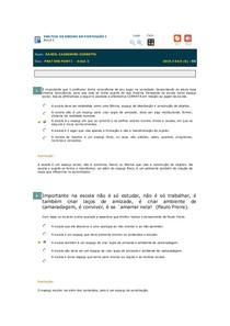 Avaliando Aprendizado - AULA 2 - Prática de Ensino e Estágio Sup Português I
