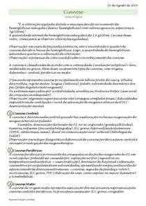 Semiologia - Cianose e Palidez