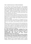 GERAÇÃO DE PESSOAS QUE SABOTAM EMOCIONALMENTE