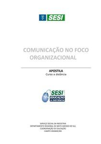 SESI ES - Comunicação no Foco Organizacional - 860 0