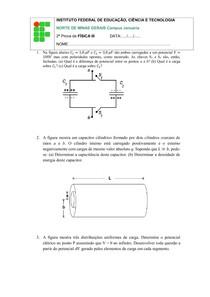 2ª prova de fisica III