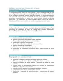 PRÁTICA SIMULADA II (TRABALHO