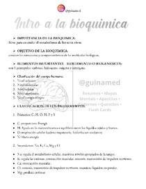 1 - Introduçao a Bioquimica