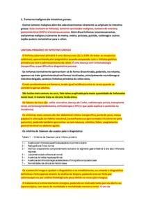 8 Tumores Malignos do Intestino Grosso