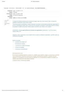 AV2 - Gestão de desempenho
